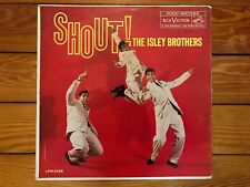 The Isley Brothers ‎– Shout! 1959 RCA LPM 2156 Jacket/Vinyl VG+