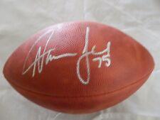 Davin Joseph Tampa Bucs - Autographed Full Size Wilson  football with COA
