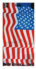 Drap de bain Velour US, serviette de plage drapeau Etats Unis, 75 x 150 cm NEUF