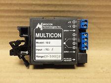 MESCON MULTICON TRANSMITTER, MODEL 10/2, INPUT: TC-J