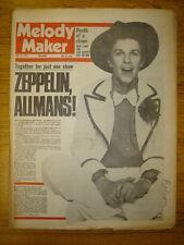 MELODY MAKER 1974 MAY 25 LED ZEPPELIN LEO SAYER ALLMAN