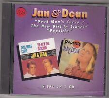 JAN & DEAN - dead man's curve / the new girl in school / popsicle CD