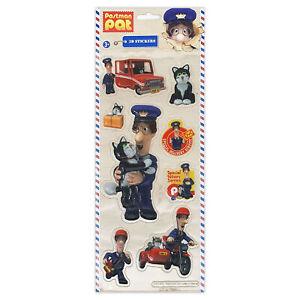 Postman Pat Stickers 3D 4001