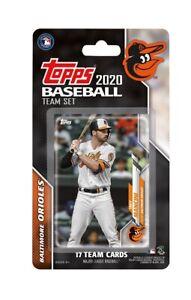 2020 Topps Baseball Baltimore Orioles Team Set