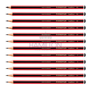 STAEDTLER Tradition Pencils - Various Quantities in 14 Degrees of Hardness
