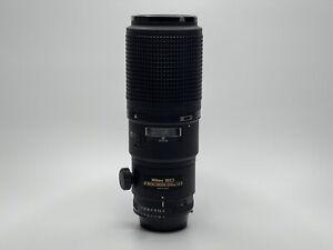 [ TOP MINT!! ] Nikon AF Micro Nikkor 200mm F/4 D IF ED Macro Lens From Japan