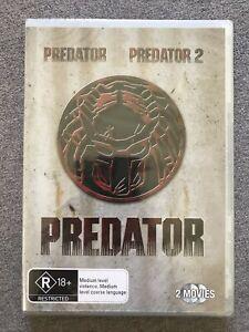 DVD - PREDATOR 1 and PREDATOR 2 - BRAND NEW & SEALED