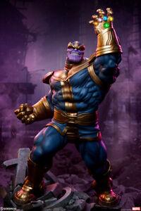 Sideshow Marvel Thanos Modern Version Avengers Assemble Statue