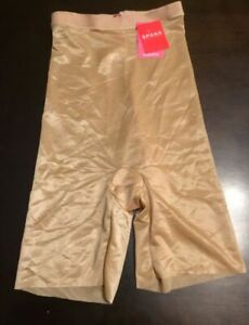 SPANX High Waisted Mid Thigh Short Naked 2.0 10080R MSRP $52