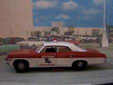 1967 CHEVY IMPALA LOUISIANA STATE POLICE 1/64 SCALE COLLECTIBLE MODEL - DIORAMA