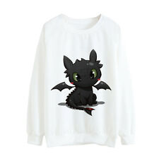 IAM TOOTHLESS HOW TO TRAIN YOUR DRAGON JUMPER SWEATER LADIES S AU8 NEW RARE SALE