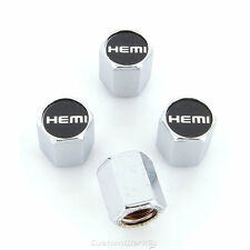 Dodge Hemi Logo Tire Stem Valve Caps