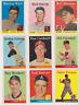 ALL NEAR MINT SET BREAK 1958 Topps Baseball PICK ONE/MORE COMPLETE YOUR SET MANY