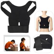 Back Posture Corrector Support Correction Lumbar Shoulder Brace Belt Therapy FT