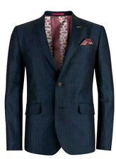"Ted Baker ""LUPINN"" Linen  2 Button  Blazer Sportscoat Ted Size 3  Nwot"