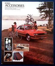 Prospekt brochure 1979 Ford Accessories Mustang  Thunderbird  LTD  Pinto (USA)