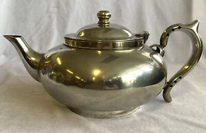 Vintage Robur Perfect Teapot with Original Infuser Stamped Challenge EPNS A1