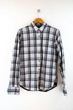 Tommy Hilfiger Herren Hemd Gr. S Langarm Karo Shirt Bunt