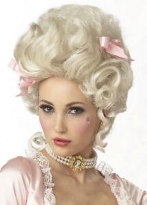 Marie Antoinette French Queen Blonde Women Costume Wig