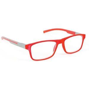 Brille Notbrille SPORTREADER  Lesebrille Lesehilfe +1,00; bis+3,0,mit Etui Neu