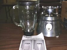 Osterizer Oster Classic Blender 600 Watts Chrome Beehive Works Well 564A 2 Speed