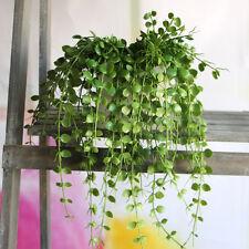 Fresh Money Leaves Fake Plant Artificial FLoral Vine Office Decoration