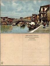 Venezia,Ponte di Rialto, Illustrata G.Parolari, nuova, ottimo stato