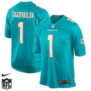 NEW WITH TAGS Youth Miami Dolphins Tua Tagovailoa Nike Jersey SIZE L
