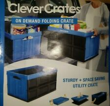 Clevermade clevercrates easy foldable storage / utility crate on the go or at 🏠