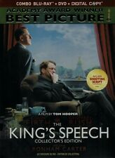 The King's Speech: Collector's Edition (Blu-ray + DVD) Colin Firth NEW