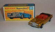 Matchbox Superfast No. 69,Rolls Royce Silver Shadow, - Superb Mint.