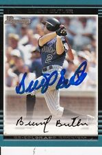 Brent Butler, 2002 Topps (Rockies), On Card Autograph!!!