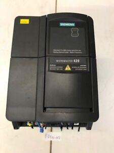 SIEMENS MICROMASTER 420 6SE6420-2AB22-2BA1 Serial No.XAU908-000055
