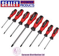 SEALEY TRX-STAR SCREWDRIVER SET 8PC POWERMAX® MAGNETIZED TIPS - AK4335
