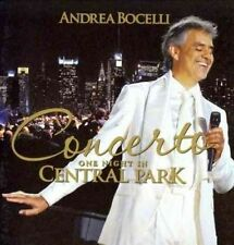 Concerto One Night in Central Park 0028947646174 by Andrea Bocelli CD