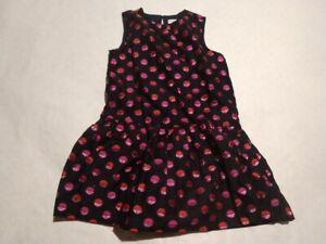 NWT Gymboree Holiday Shop Metallic Dots Christmas Party Dress Girls Size 6