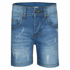 BNWOT BOYS EX STORE DENIM LOOSE FIT SHORTS AGES 8 TO 15 YEARS