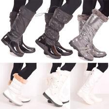 Ladies Womens Winter Boots Walking Dog Walking Wellies Casual Rain Shoe Size 3-8