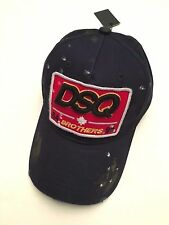 "Dsquared2 - Dsquared Hat - Model ""64 BROTHERS 95"" Cappello Dark Blue Hat"