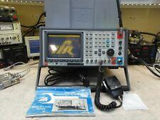 Aeroflex Ifr Com 120b Communications Service Monitor Spectrum Analyzer Loaded