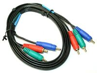 High Performance RCA Component Video Cable Cord for TV VCR DVD Home Theater
