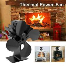 Wood Heater Eco Fan Stove Fireplace Fire Heat Powered Thermoelectric Ecofan IM
