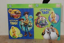 2 Let's Play Tag! Activity Sampler Paperback Tag Pen Leap Frog Book 4-8 Years