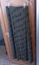 Vintage Gantos Green Maxi Skirt+Made In U.S.A.+Sz Small
