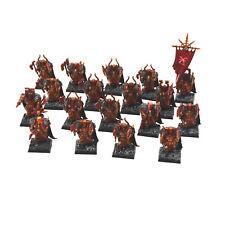 WARRIORS OF CHAOS 18 Warriors regiment 4 PRO PAINTED Fantasy khorne