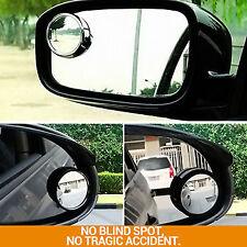 2x specchio convesso Blind Spot Traino Inversione Di Guida Autoadesivo Auto Furgone