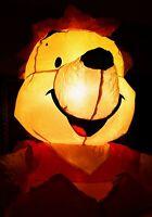 WINNIE THE POOH Halloween Pumpkin Vintage Airblown Inflatable Disney Gemmy 4 ft