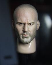 █ Custom Jason Statham 1.0 1/6 Head Sculpt for Hot Toys Muscular Body Belet █