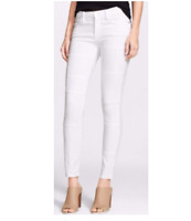 FRAME DENIM ladies 'Skinny de Jeanne' jeans Panel patch - blanc - size 25
