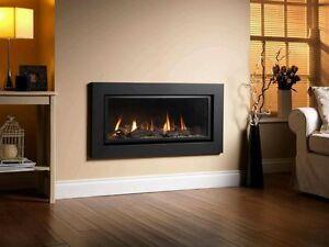 Senso Fireplaces 860 HE Gas Fire High Efficiency HIW